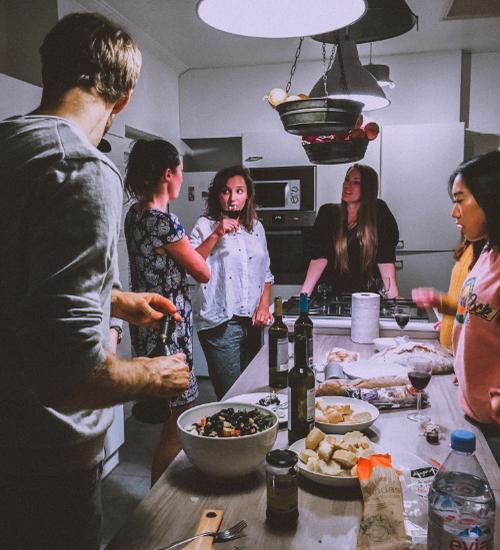 Kitchen-People